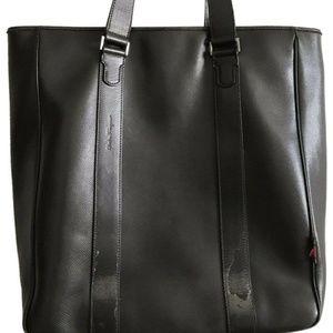 Salvatore Ferragamo Unisex Brown Leather Tote